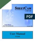 SheetCam Manual