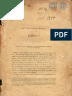 REVISTA DEL INSTITUTO PARAGUAYO - AÑO II - Nº 18 - ASUNCION Julio de 1899 - PARAGUAY - PortalGuarani