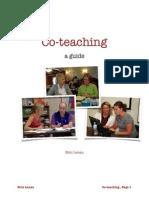 co-teaching folder