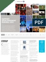 Rapport développement durable Alcatel-Lucent 2011