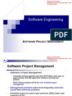 Software Engineering 1- Lec 5 Software Project Managment