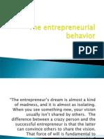Entrepreneurial Behavior