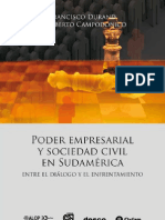 Poder empresarial y Sociedad Civil en Sudamerica
