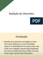 Radiação de Cherenkov