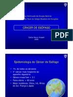 Cancer Do Esofago