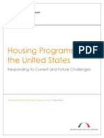 Housing Programs in the United States