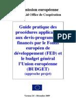 Guide Pratique Devis Programme FED 2009