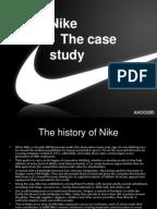 nike Case Study   Nike