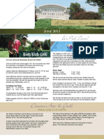Hannibal Country Club June Newsletter