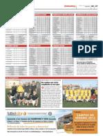 Clasificaciones de las ligas de Futbolcity en Superdeporte. 30 de Mayo 2012