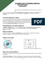 APOSTILA CURSO BÁSICO DE ELETRÔNICA Prof.Menezes