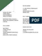 CURSO PADARIA RECEITAS