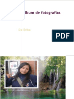 Álbum de fotografías de erika