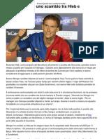 Arsenal_ Pronto Uno Scambio Tra Hleb e Fabregas _ CalcioLine