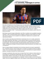 Barcellona_ Xavi è convinto, Fabregas in arrivo _ CalcioLine