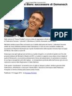 Francia_ Laurent Blanc Success Ore Di Domenech _ CalcioLine