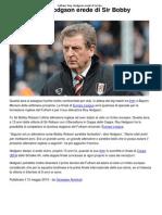 Fulham_ Roy Hodgson Erede Di Sir Bobby Robson _ CalcioLine