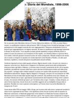 I Gruppi Di Ferro_ Storia Del Mondiale, 1998-2006 _ CalcioLine