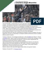 Inter_ La Stampa Straniera Elogia Mourinho _ CalcioLine