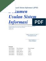 Judul Proyek Sistem Informasi