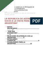 Informe Azerbaiyan