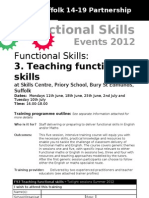 Functional Skills Teaching - a short course