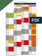 Timetable 2012