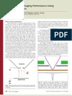 Improving SEM Imaging Performance Using Beam Deceleration[1]