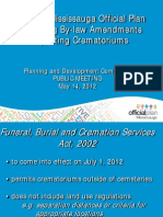 Public Meeting Crematorium Study