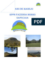 Plano de Manejo Rppn Fazenda Morro Sapucaia