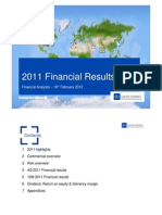 Full Year 2011 Presentation to Analysts Webcast
