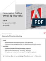 Automated Testing in Flex