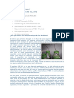 Caracteristicas Del Gas Propano