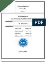 Fianl Project Report CB