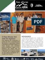 Newsletter - Nas alturas Navegação