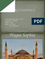 APRESENTAÇÃO HAGIA SOPHIA- História