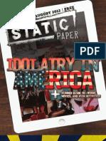 Static Paper Summer 2012