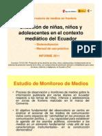 Monitoreo de Medios - Informe 2011