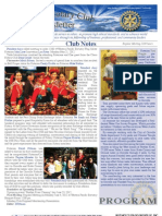 Rotary Newsletter May 21