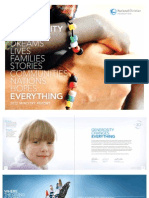 """NCF """"Generosity Changes Everything"""" 2012 Ministry Report"""