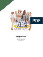 Goldisc Sample