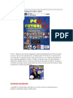 Actualización Pc Fútbol 6