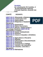 COMITÊS BRASILEIROS