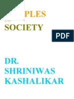 Temples and Society Dr Shriniwas Kashalikar