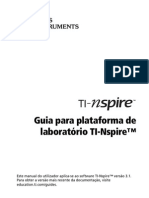 TI-Nspire LabCradle Guidebook PT