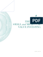 Chanticleer Advisors - The Case for Small & Micro-Cap Value Investing - April 2012 Final