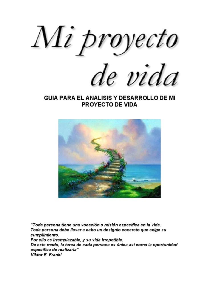 Cartilla proyecto de vida for Proyecto de criadero de mojarras