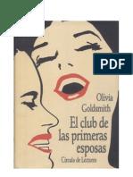 El Club de Las Primeras Esposas - Goldsmith Olivia