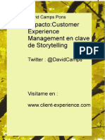Impacto Customer Experience Management en Clave de Storytelling