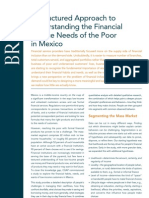 A Structured Approach to Understanding the Financial Service Needs of the Poor in Mexico
